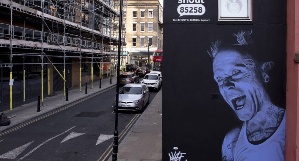 Keith Flint mural unveiled in London for World Suicide Prevention Day