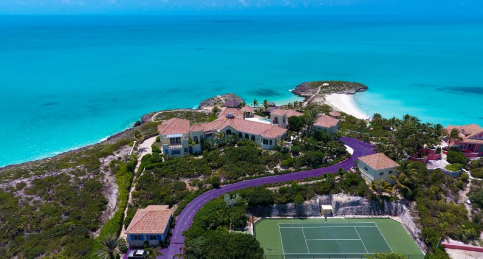 Prince's Caribbean mansion is up for sale